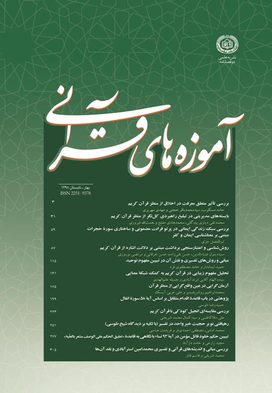 آموزه های قرآنی